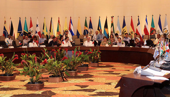 Reunión de cancilleres del Grupo de Río, Cancún, México. ABN Foto: Zurimas Campos