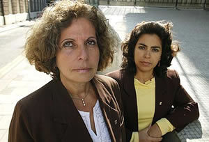 Olga Salanueva y Adriana Pérez