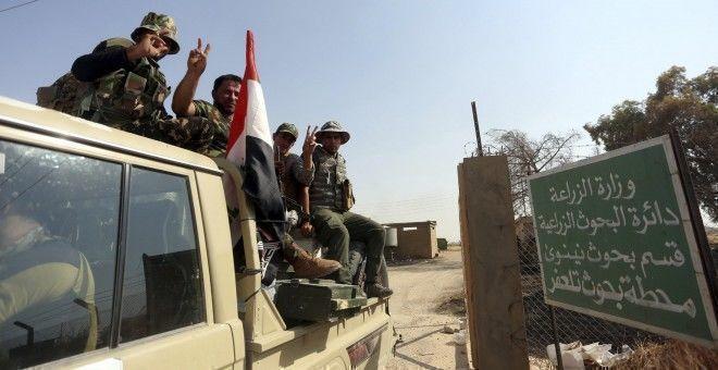 Las fuerzas iraquíes arrebataron al grupo terrorista Estado Islámico (EI) los dos últimos barrios que quedaban en sus manos en la ciudad de Tel Afar