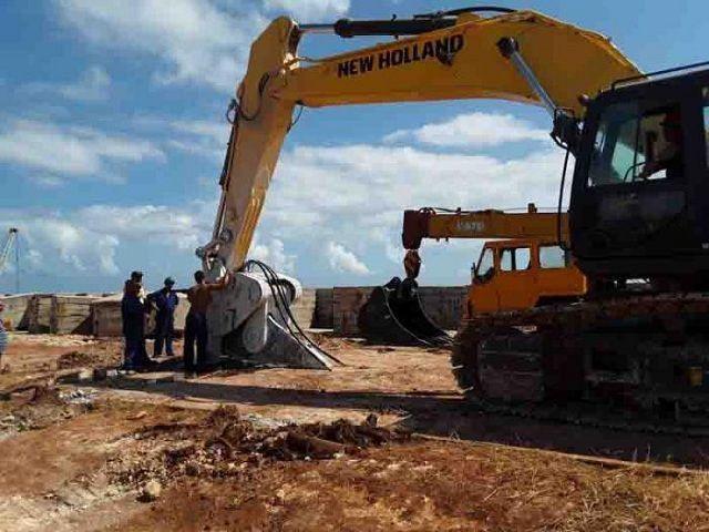 Fuerzas combinadas trabajan de manera ininterrumpida para restablecer el funcionamiento de la planta