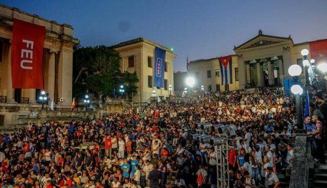 Aniversario 95 de la Federación de Estudidantes Universitarios