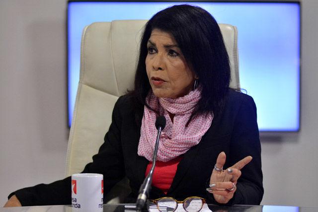 Marina Menéndez Quintero, analista de temas internaciones del diario Juventud Rebelde