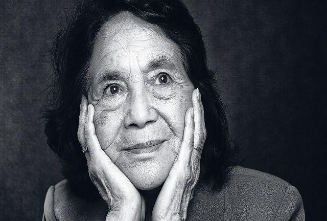 La luchadora social estadounidense, Dolores Huerta