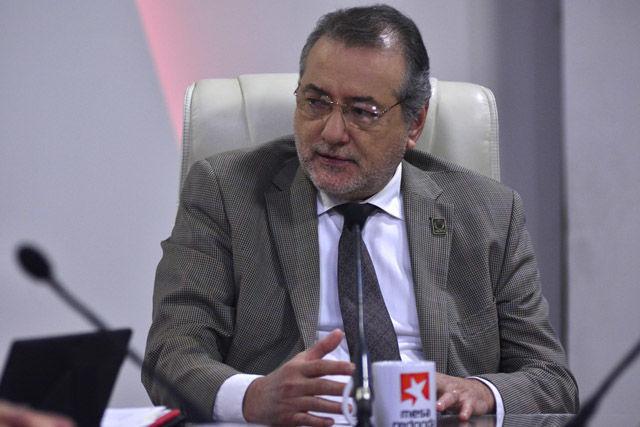 Dr.Roberto Villers Aispuro, director general académico de la Asociación Nacional de Universidades e Instituciones de Educación Superior (ANUIES) de México
