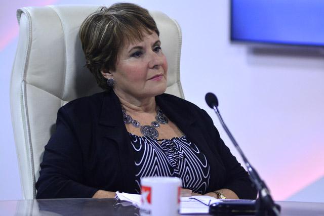 Ondina León Díaz, directora del Centro Nacional de Sanidad Agropecuaria (CENSA)