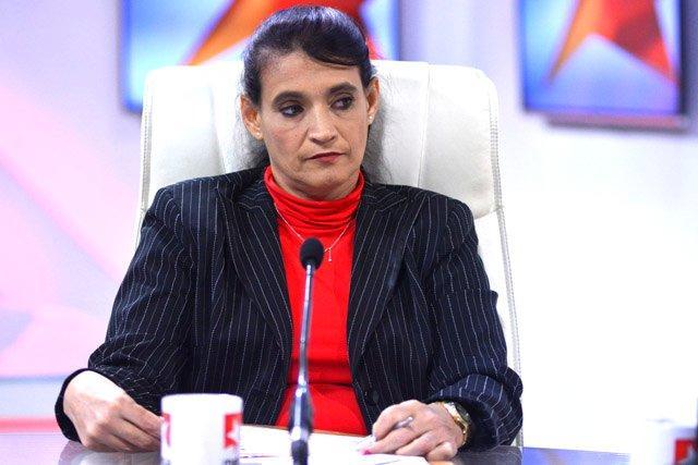 Ana Teresa Igarza Martínez, directora general de la Oficina de la Zona Especial de Desarrollo Mariel.