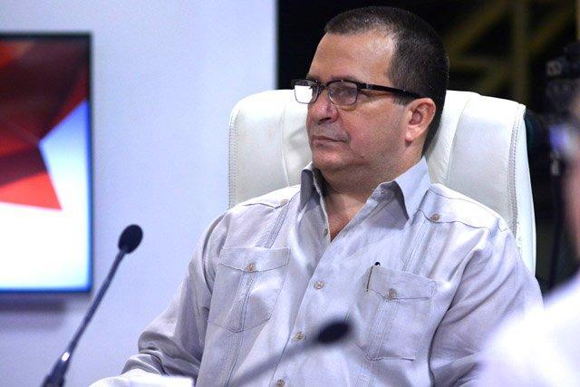 Javier Rubén Cid Carbonell, viceministro del Ministerio de Energía y Minas.
