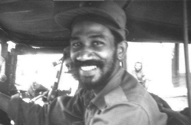 Comandante Juan Almeida Bosque, jefe del Tercer Frente Mario Muñoz