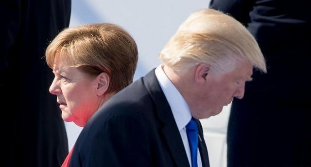 OTAN, Angela Merkel y Donald Trump